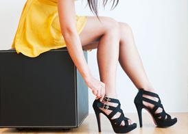 Как правильно ходить на каблуках, чтобы не болели ноги
